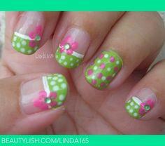 Green Polka Dot Bikini | Iliana S.'s (linda165) Photo | Beautylish