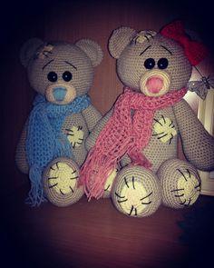 Crochet Me to you beer , dutch pattern krissiedolls http://www.mykrissiedolls.nl/a-45377687/patronen/mijn-kleine-pandabeer/