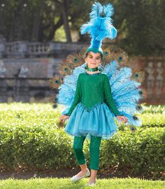 Pretty Peacock Costume @Chasing Fireflies