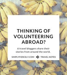 Volunteering abroad is a great way to learn more about yourself and give back… Travel Goals, Travel Advice, Travel Tips, Travel Destinations, Work Abroad, Study Abroad, Wanderlust, Volunteer Abroad, Gap Year