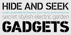 PF Din Stencil™ - Webfont & Desktop font « MyFonts