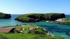 Playa de Antilles, Asturias