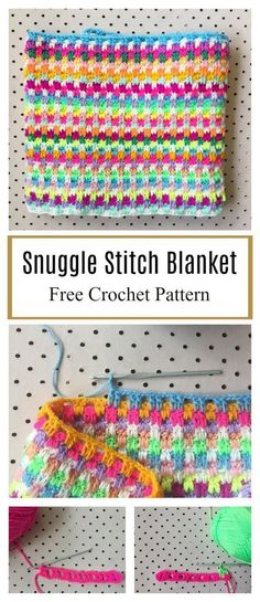 crochet afghans ideas Leaping Stripes and Blocks Blanket Free Crochet Pattern - This Leaping Stripes and Blocks Blanket Free Crochet Pattern is really a great project. It takes the typical striped crochet blanket to a whole new level. Crochet Afghans, Motifs Afghans, Striped Crochet Blanket, Crochet Stitches Patterns, Knitting Patterns, Crochet Blanket Stitches, Crochet Block Stitch, Free Crochet Blanket Patterns, Pattern Sewing