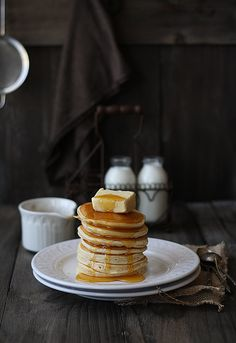 Simple pancake recipe...    that's a LOT of butter :->