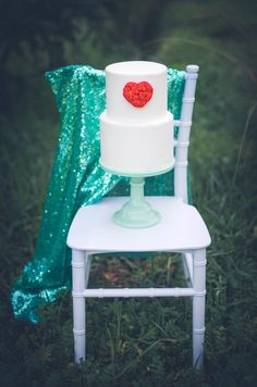 Cake from a Valentine Playdate Party on Kara's Party Ideas | KarasPartyIdeas.com (3)
