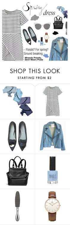 """""""Sweet Spring Dress"""" by fashionmadness-3 ❤ liked on Polyvore featuring Chiara Ferragni, Givenchy, Topshop, Tweezerman, Blanc & Eclare and modern"""
