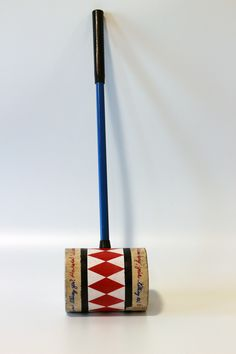 Full size Harley Quinn hammer made from solid wood and fiberglass. The real deal made by our Production Manager.