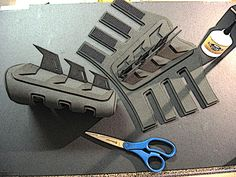 Nightwing Armor Template   If this is your first build, check out the Introduction Page first,