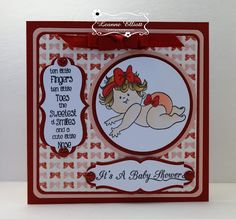 ONECRAZYSTAMPER.COM: It's a Baby Shower by Leanne using High Hopes Stamps…