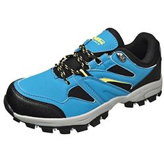 Air Balance Girls  Boys BlackBlue Hiking Shoes >>> Read more at the image link. (This is an Amazon affiliate link)
