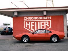 2 of my 3 favorite things... Cars and watches...  Ferrari 308 GTB 1975