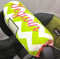 Arm Pad with Monogram Option, Add this to cart if you want to match your cover with monogram on Etsy, $40.00