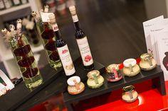 Condiments balsamiques à la framboise ou à la truffe des Domaines des Terres Rouges, chez The Party Events à Strasbourg