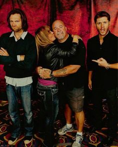 "NJCon2013...""Clif has his own fans""... that's a pretty awesome picture :) ( Love the expressions on Jared's and Jensen's faces. )"