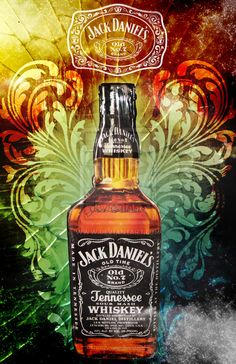 Jack Daniel's by mymongo on DeviantArt Whisky, Scotch Whiskey, Bourbon Whiskey, Bourbon Drinks, Irish Whiskey, Bebidas Jack Daniels, Jack Daniels Wallpaper, Jack Daniels Bottle, Jack Daniels Whiskey
