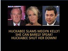 Huckabee Slams Megyn Kelly! She Can Barely Speak! Huckabee Shuts Her Down... | RedFlag News
