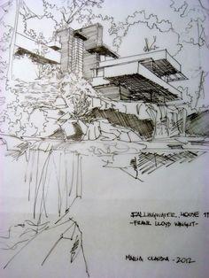 Fallingwater House - Frank Lloyd Wright