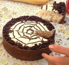 Tarta de queso y chocolate (receta casera)
