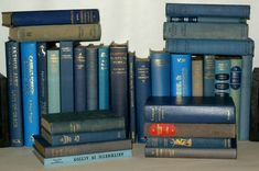 30 Various BLUE Hardback Books, Perfect for Display - Wedding Decoration Etc Book Collection, Book Lists, Bookends, Wedding Decorations, Display, Learning, Blue, Ebay, Ideas