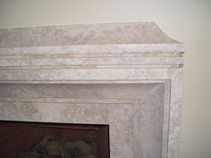 Amazing fireplace detail work in VM Blue limestone Natural Stone Fireplaces, Stone Age, Natural Stones, Marble, Detail, Amazing, Blue, Home Decor, Decoration Home