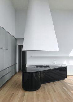 Dada + Herzog & de Meuron 56 Leonard Street, New York Shop Interior Design, Interior Design Kitchen, Home Design, Design Shop, Kitchen And Bath Design, Modern Kitchen Design, Kitchen Designs, Custom Kitchens, Cool Kitchens
