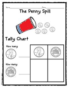 Great for President's Day unit or general math tally lesson. Thanks- Enjoy!This is part of my larger President's Day Unit...