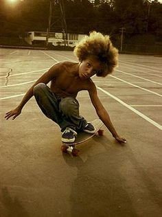 A Southern California Skateboarder photographed by Hugh Holland, 1975.