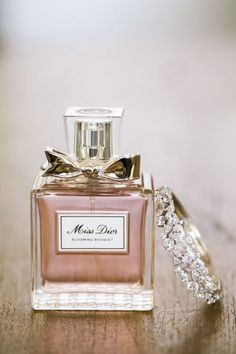 -  Diamonds & perfume, what more can a girl ask for? ♥
