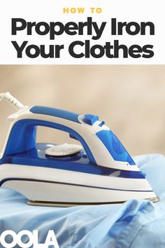 Ironing your clothes can be the difference between a stunning outfit and a hot mess, but many people don't know how to approach this chore to do it effectively. Sewing Tips, Sewing Hacks, Bullet Journal Cleaning, Sunday Clothes, How To Iron Clothes, Steam Iron, Laundry Hacks, Hot Mess, Grease