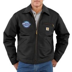 Duck Detroit Jacket - Blanket Lined by Carhartt custom embroidered or  printed with your company logo