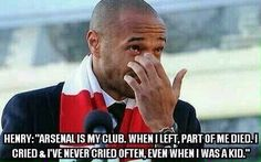 He needs to retire as a Gunner. Come home Thierry Henry. Arsenal Players, Arsenal Football, Arsenal Fc, Football Soccer, Thierry Henry, One Team, Ribbon, Merry, Wallpapers