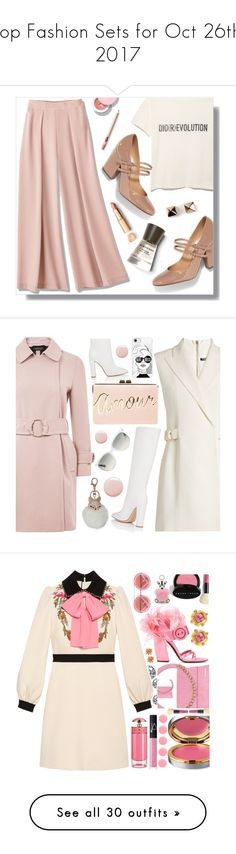 """Top Fashion Sets for Oct 26th, 2017"" by polyvore ❤ liked on Polyvore featuring Sergio Rossi, Burberry, Valentino, Topshop, Balmain, Gianvito Rossi, BCBGMAXAZRIA, Casetify, Ray-Ban and Natasha"