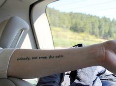 Arm Quotable Tattoo minimal tattoos, quotable tattoo, quote tattoo, quote tattoo idea, tattoo idea, tattoos  http://tattooideas22.com/arm-quotable-tattoo/