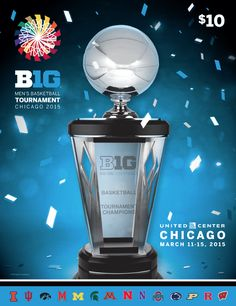 2015 Big Ten Women's Basketball Conference Tournament Program. Maryland capped a perfect conference run with a Big Ten championship title, beating Ohio State in the final game. Maryland continued its run all the way to the Women's Final Four. Big Ten Football, Ncaa March, Ncaa Final Four, United Center, March Madness, College Basketball, Wisconsin, Michigan, Conference