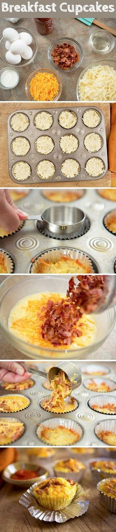 Breakfast Cupcakes Food Pix / Recipe by Picture