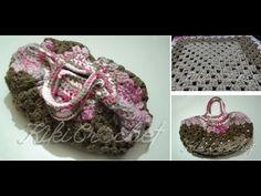 Crochet Granny Square Bag (part 1)