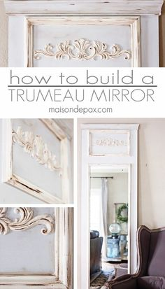 Check out how to build this easy DIY trumeau mirror yourself @istandarddesign