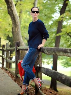 Bittersweet Colours : Jeans, sweater and heels