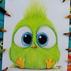 Art drawings en 2019 drawings, cute drawings et colorful drawings. Art Drawings For Kids, Art Drawings Sketches Simple, Bird Drawings, Pencil Art Drawings, Kawaii Drawings, Colorful Drawings, Disney Drawings, Cartoon Drawings, Animal Drawings