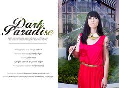 Dark paradise Editorial www.sashahphotography.com Dark Paradise, Dark Winter, Winter Months, Hair Makeup, Editorial, Formal Dresses, Model, Photography, Fotografie