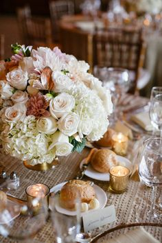 Rebecca Reategui Weddings and Special Events // Vero Suh Photography // Ornamento Flowers // centerpiece // wedding // timeless // Stanford University // Sharon Heights Country Club