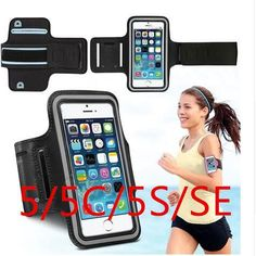 Keep Your Phone With You While Running/Exercising With This Sport Arm Band Case For iPhone
