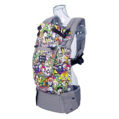 The Lillebaby Complete in Tokidoki Iconic pattern.