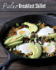 Hearty Paleo Breakfast Skillet (maybe with some edits this would be a good camping breakfast)
