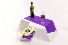 sbrah art_VERTO Tavolo da caffè in lamiera di ferro piegata. Coffee table in folded iron sheet .