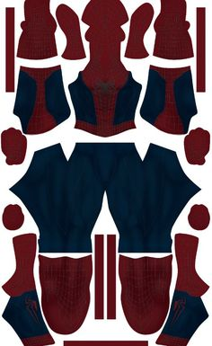 If you think that the pattern is dark/bright to you, you can add a Brightness and contrast filter.*The folder include :-Pattern file (. Spiderman Web, Spiderman Suits, Spiderman Costume, Suit Pattern, Black Pattern, Cosplay Armor, Male Cosplay, Miles Morales Costume, Free Spider