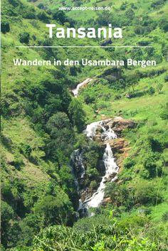 Tansania Reise - [Reisebaustein] Usambara Berge mit Wanderungen und Ausflugsmöglichkeiten