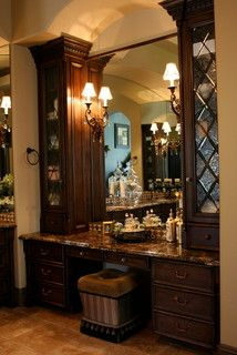 Buffington New Build 1st home - mediterranean - bathroom - san diego - by Karmichael's Cabinetry, Inc