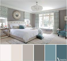 Creando calma en un espacio: 10 paletas de color que te ayudarán Decorar tu casa es facilisimo com Dormitorios Colores de interiores Colores para dormitorio