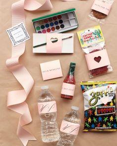 Atlanta Wedding Gift Bag Ideas : Wedding Welcome Bags on Pinterest Welcome Bags, Welcome Baskets and ...